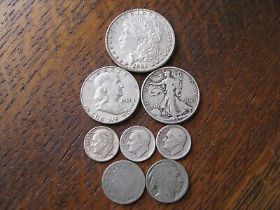 Lot #1 90% Silver U.s. Coins Read More