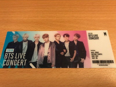 BTS Official World Soundtrack OST Lenticular Ticket Only