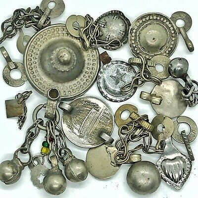 Antique Middle Eastern Islamic Arabic Jewelry Pieces Old Belly Dancing — Mosque