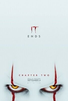 """It Chapter 2 Two (2019) 11""""x17"""" Authentic Movie Mini Poster! 2-pack Pennywise"""