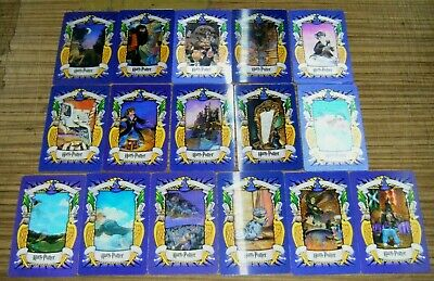 Harry Potter Chocolate Frog 3D Lenticular Cards - 16/20 part set