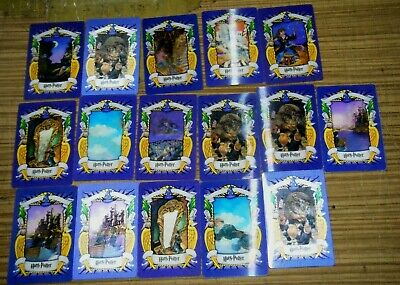 Harry Potter Chocolate Frog 3D Lenticular Cards Lot of 16