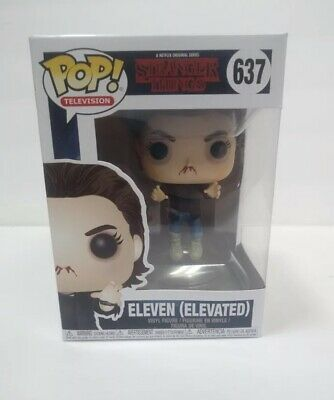 BRAND NEW LAST ONE Funko Pop! Eleven (Elevated) #637: Stranger Things Netflix Tv