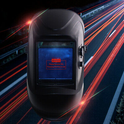 Solar DIN5-DIN13 Auto Darkening Face Mask LCD Display Welding Mask Helmet