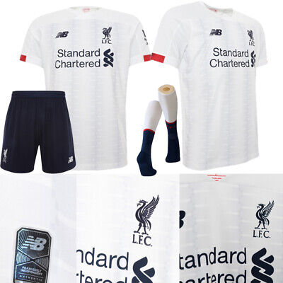 UK 19/20 Liverpool Soccer Suits Jerseys Football Kits Outfits For Kids Adults