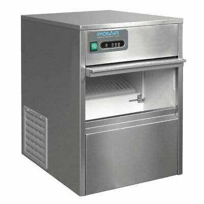 Ice Machine Maker Under Counter Bullet Polar 20kg/24h 4kg Storage Commercial NEW