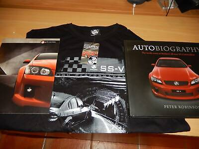 Holden Ve Ssv Commodore Collectables : Shirt. Book .Mag .Broucher .Ect