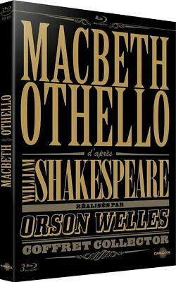 Coffret Macbeth Othello Shakespeare Orson Welles  Blu Ray  Neuf Sous Cellophane