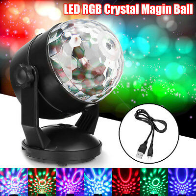 GRB LED Crystal Effect Disco Light Stage DJ Laser Lights Club Party Magic Ball