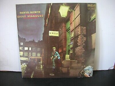 David Bowie:   The Rise And Fall Of Ziggy Stardust     Sf 8287      Con  Vg