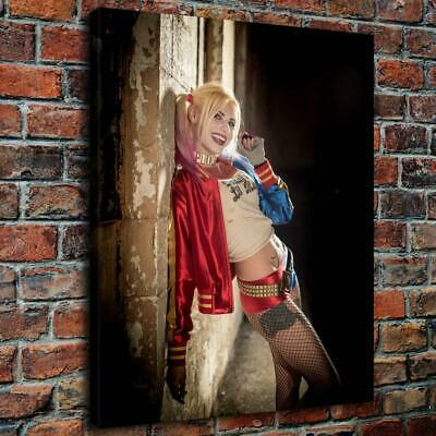 """16""""x20""""Harley Quinn Suicide Squad HD Canvas prints Painting Home decor Wall art"""