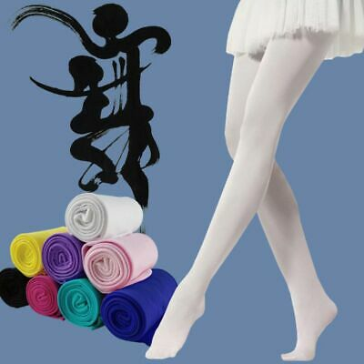 Kids Children Hosiery Girls Tights Pantyhose Stockings Candy Color Ballet Socks