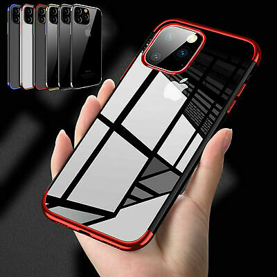 CLEAR Case For iPhone 11 Pro Max Cover Silicone Gel Shockproof Protective TOUGH*