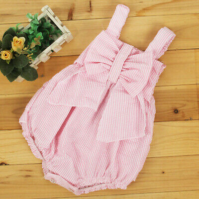 Newborn Toddler Infant Girl Romper Bodysuit Jumpsuit Outfit Sunsuit Clothes