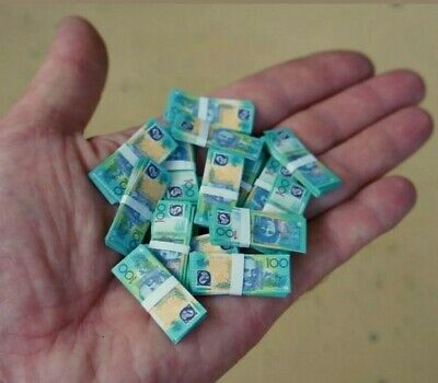 Add to Coles Little Shop - 2 Sheets of  $100 Banknotes