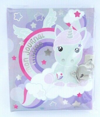 """Journal intime Licorne Candy Cloud Twinkles """"Mon journal intime"""""""