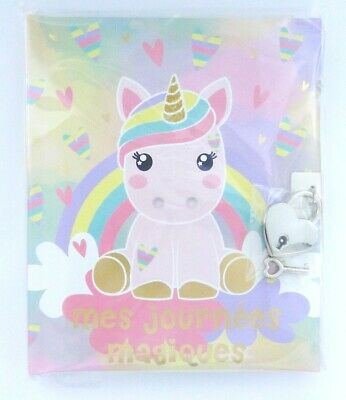 """Journal intime Licorne Candy Cloud Gigglepot """"Mes journées magiques"""""""