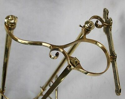 XL Wall Coat Rack - Brass Wardrobe - Coat Rack