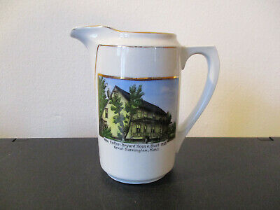 Circa 1910 Souvenir William Cullen Bryant House Great Barrington Massachusetts