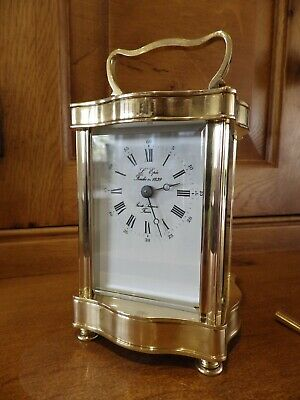 L Epee Serpentine Case Style French Carriage clock In Mint Condition