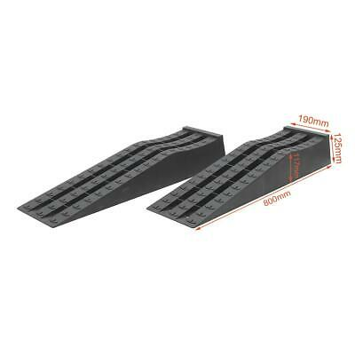 161909 KATSU 2PCS Low Profile Plastic Racing Car Service Ramps