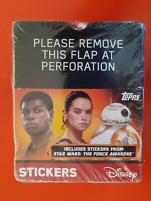 Topps STAR WARS The Force Awakens 2015 Album Stickers {select your} 241-292