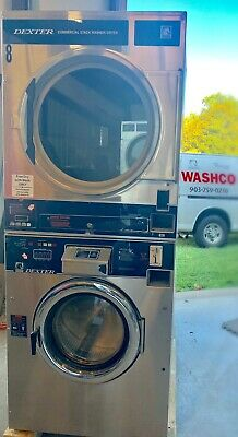 Used 2003 DEXTER 30 lb Stack Washer/Dryer