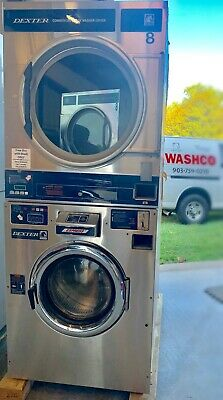 Used 2001 DEXTER 30 lb Stack Washer/Dryer