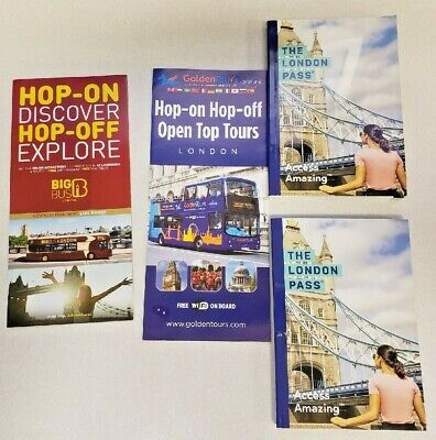 6 Day London Passes plus 50 GBP Oyster Travel Cards (x2) - Dec 2020 Exp.