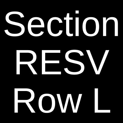 4 Tickets Absinthe 11/6/19 Spiegeltent at Caesars Palace Las Vegas, NV