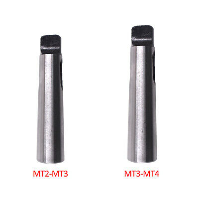 MT2Spindle to MT3 Arbor Morse Taper Adapter Reducing Drill Sleeve Lathe Part
