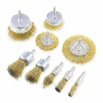 Metal Cleaning Wire Brush Set Grinding Wheel & Cup Professional  Polishing Kit