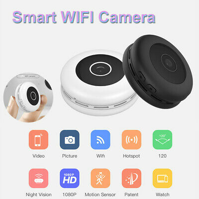 Mini Spia Telecamera Micro Spy DV Wireless Wifi IP Nascosta Full HD Video Camera