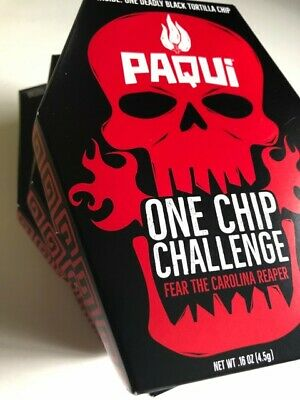2019 Paqui One Chip Challenge SOLD OUT! SOLD OUT!!! FREE SHIPPING WITHIN USA
