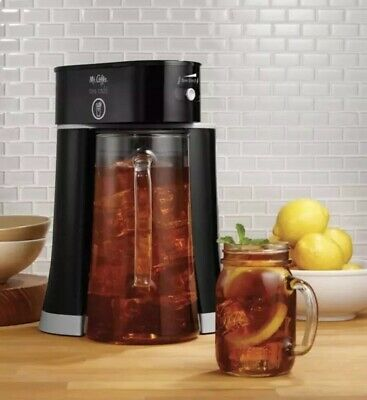 Mr. Coffee Tea Cafe 2.5 Quart-Iced Tea Maker With Glass Pitcher - Brand New