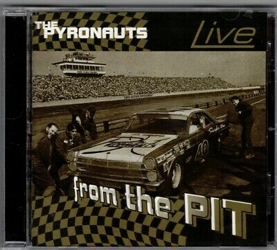 The Pyronauts Live From The Pit Cd  Instrumental Surf Music Hard To Find Cd