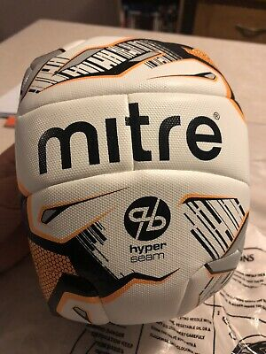 New - Mitre Ultimatch HyperSeam Match Quality Football Size 3