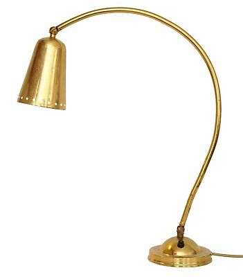 Classic Berliner Kontorleuchte Design Desk Lamp Brass Lamp 1940