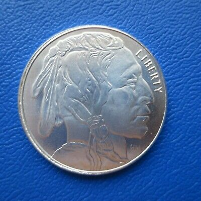 USA Liberty Indian Head HM & Buffalo One Troy Ounce 1 Oz 999er Silber (656)