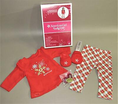 American Girl Holiday Dreams Pajamas For Dolls Saige Grace Julie Isabelle