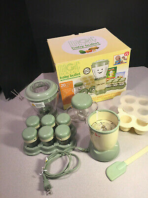Baby Bullet Food Blender & Accessories