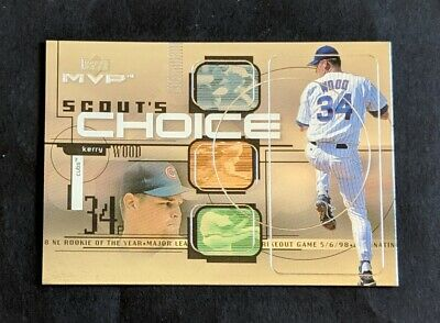 1999 Upper Deck MVP Kerry Wood Scout's Choice #SC8 Chicago Cubs
