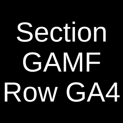 3 Tickets ASAP Ferg 11/14/19 House Of Blues - Chicago Chicago, IL
