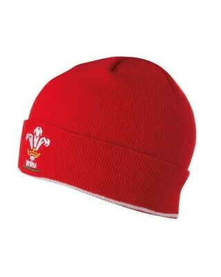 Wales Cymru Welsh rugby hat beanie  new with tags red welsh