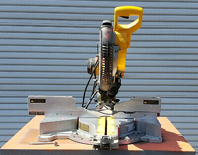 "Dewalt DW718 12"" Double Bevel Sliding Compoung Miter Saw (Woodworking Machinery)"