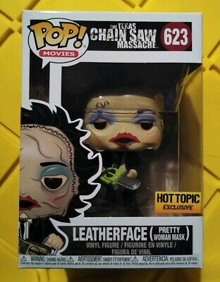 Funko POP! Leatherface (Pretty Woman Mask) #623 Hot Topic Exclusive HARD TO FIND