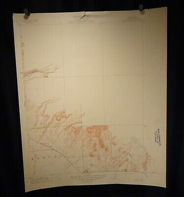 1912 Geological Survey Topography Map California, Butte Clear Creek  - 57407