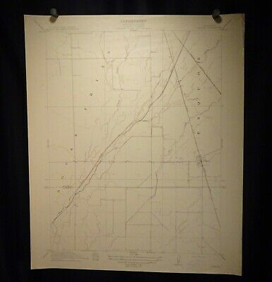 1912 Geological Survey Topography Map California, Nelson   -  57401