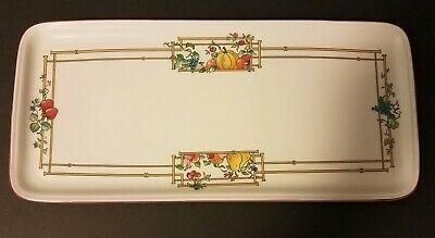 Villeroy & Boch Mon Jardin Large Sandwich Tray Plate Porcelain Mult Available