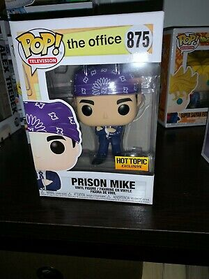 Funko Pop! Prison Mike Scott Exclusive Hot Topic The Office SOLD OUT In Hand